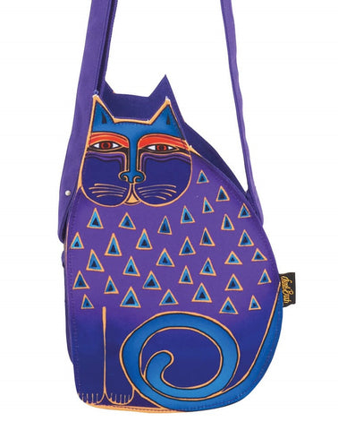 Laurel Burch Feline Family Cutout Crossbody