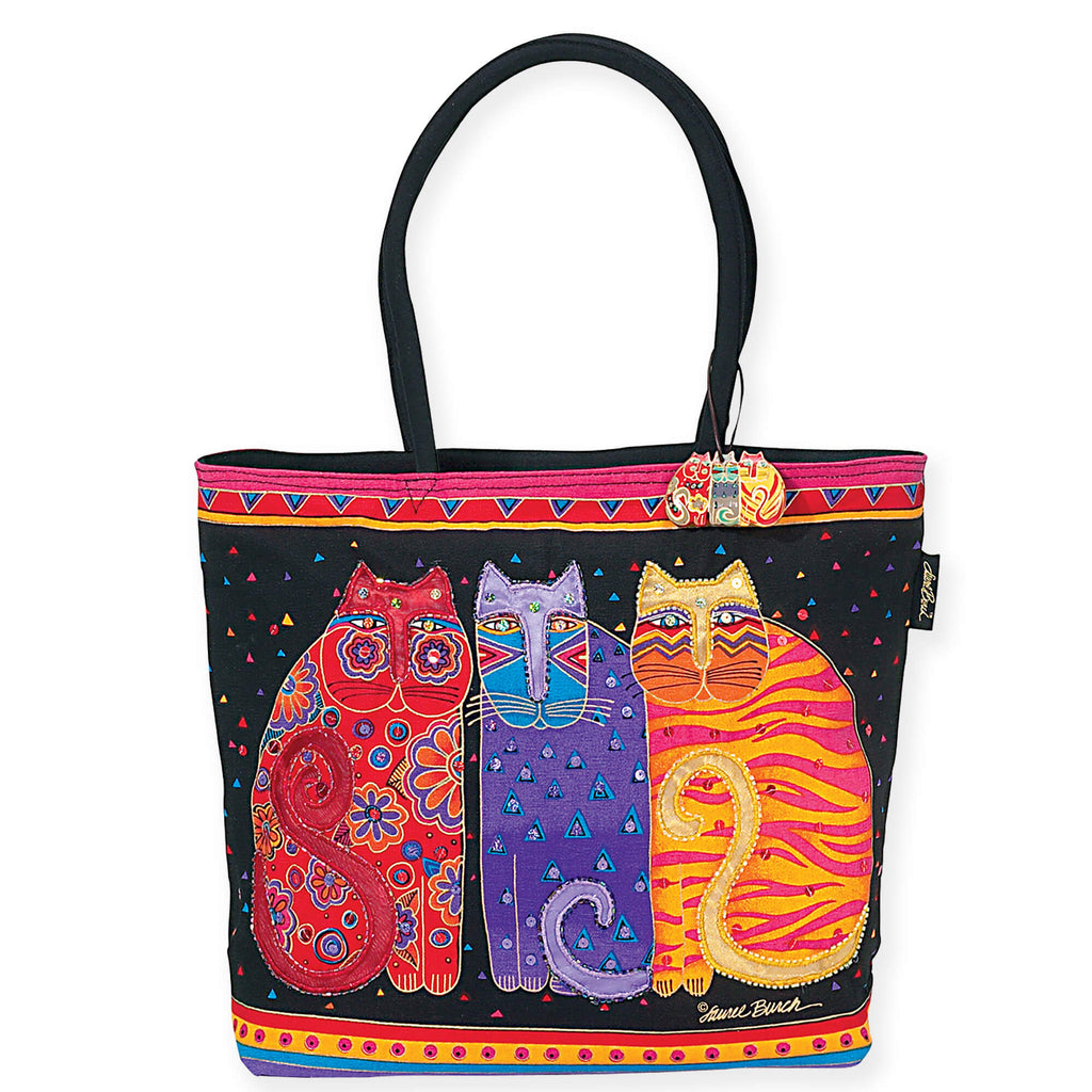 Laurel Burch™ Feline Friends Tote