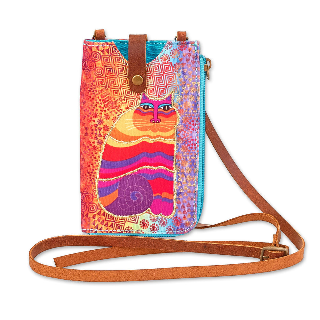 Laurel Burch™ Rainbow Feline Crossbody - NEW!!!