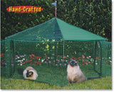 Kittywalk® Gazebo Cat Enclosure - NEW!!!