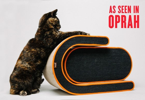 Arty Cat Scratcher & Lounger