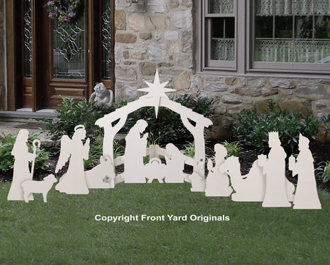 Small Outdoor Nativity