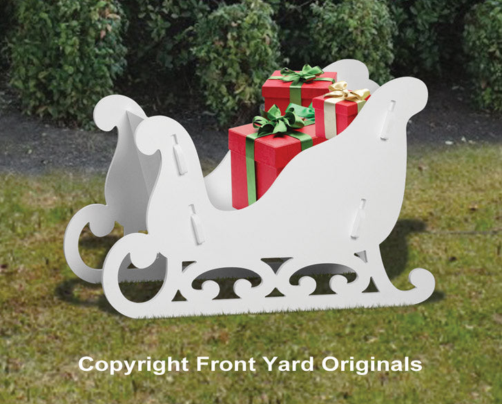 Medium Elegant Sleigh Display