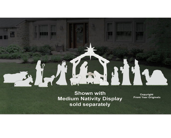 All Three Medium Nativity Add-On Sets