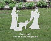 Medium Angel, Shepherd, Sheep Add-On Set