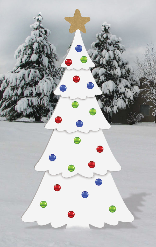 All-Weather Christmas Tree Display