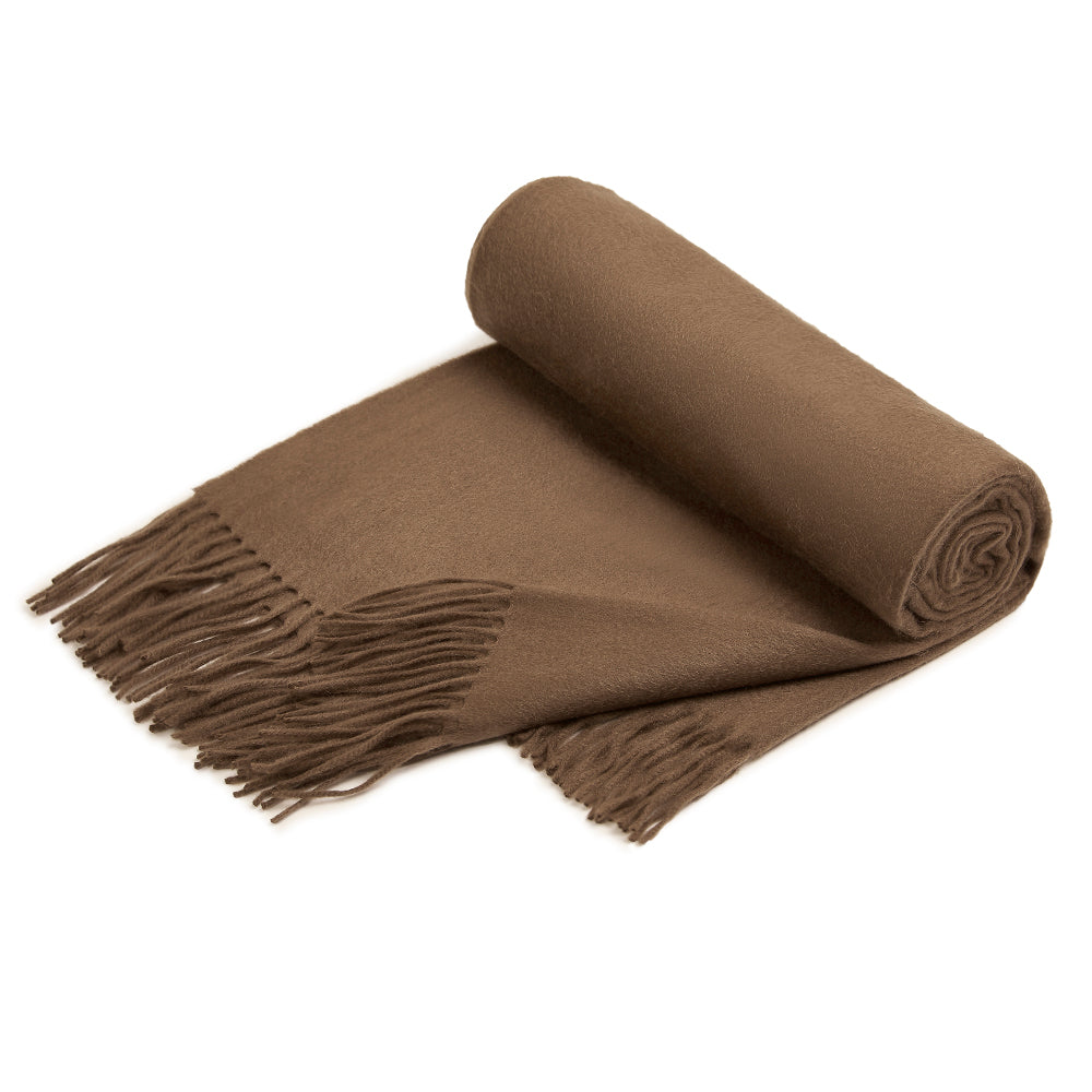 Coffee Cashmere Blanket Udeshi