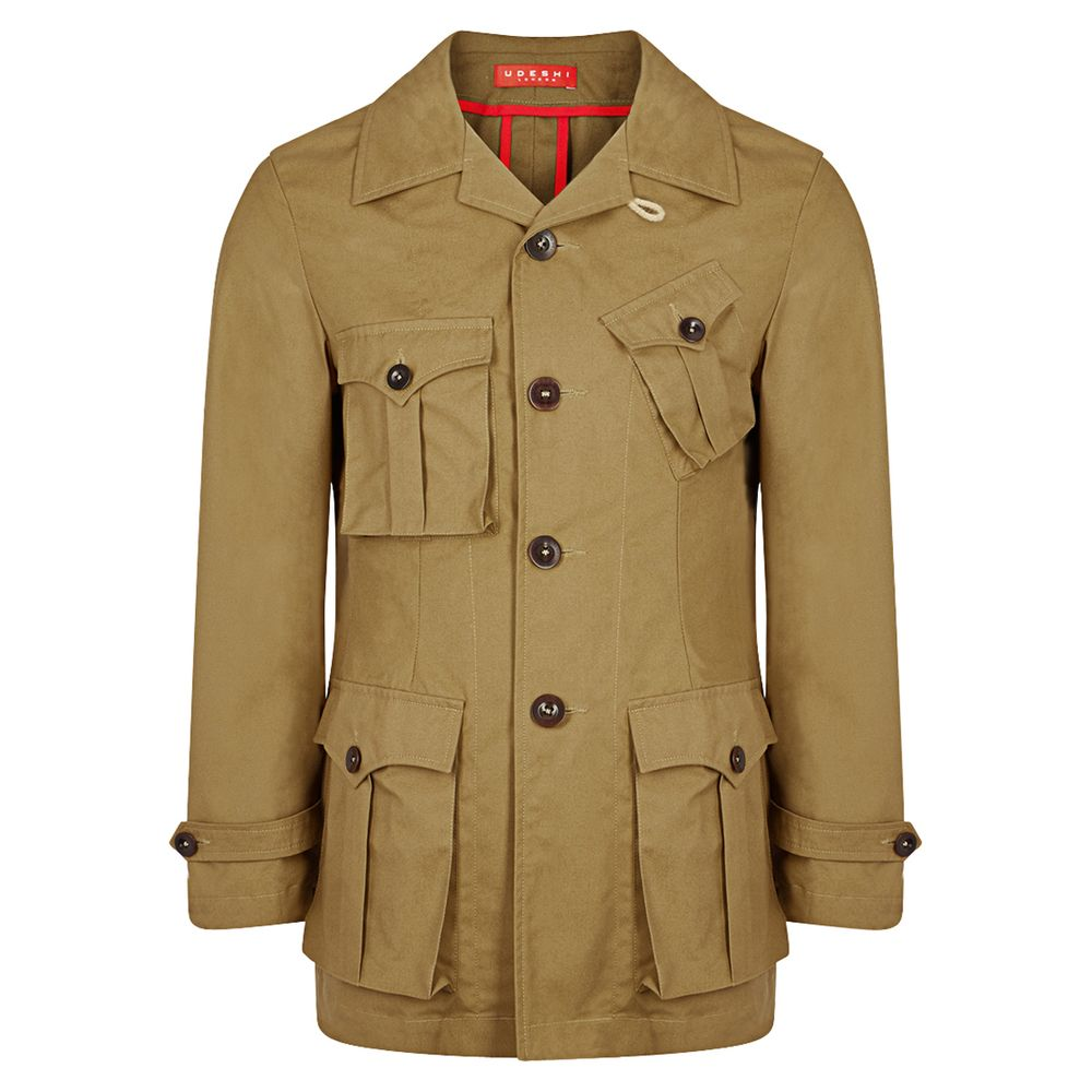 Udeshi drab safari jacket