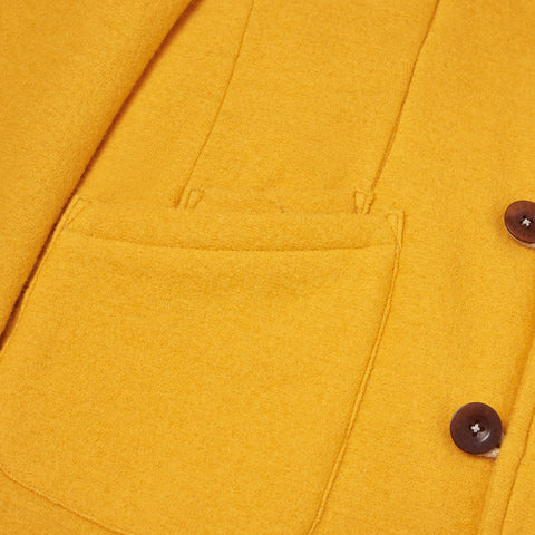 Yellow Duffle Corto Pocket