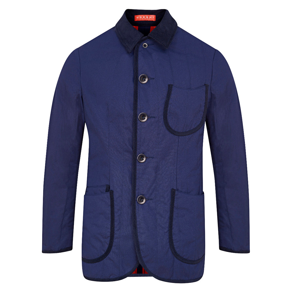 Udeshi Brisbane Moss Quilted Jacket