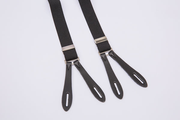 Vintage Narrow Braces Black