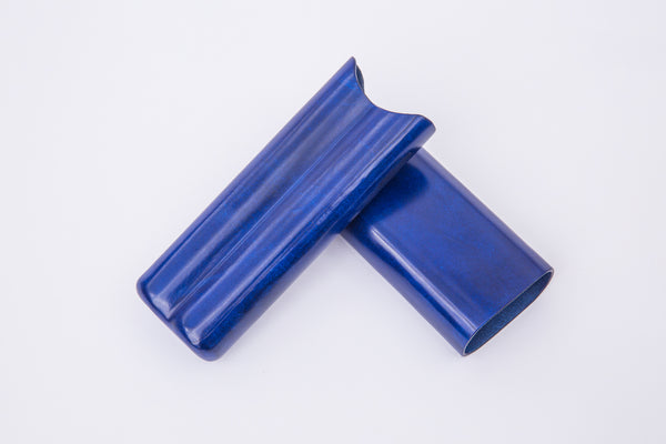 Gigantes Doble Cigar Case Blue