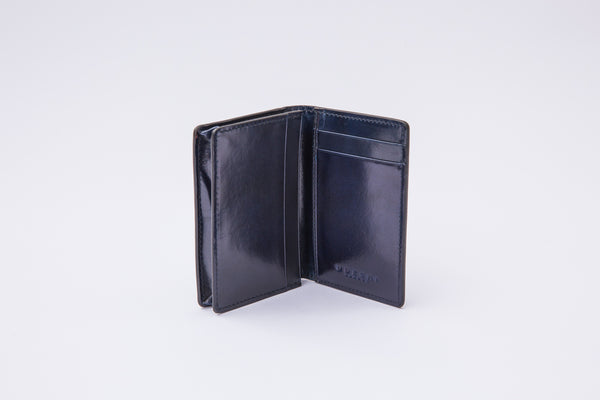 Folding Card Holder Navy