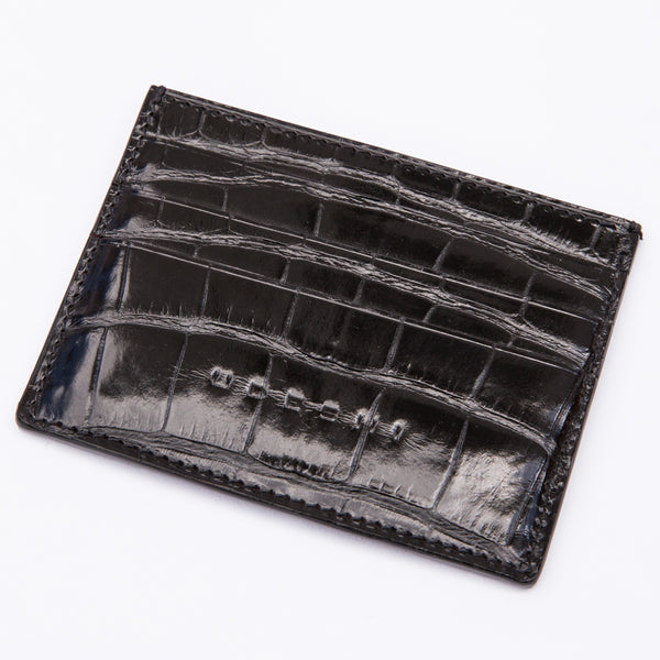 Alligator 7-card Case Black