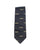 Camel Train Motif Silk Tie Black