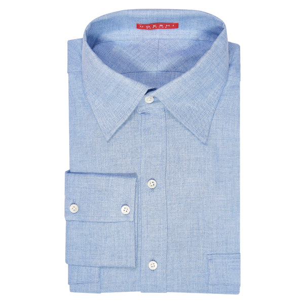 Swiss Cashmerello Shirt Blue