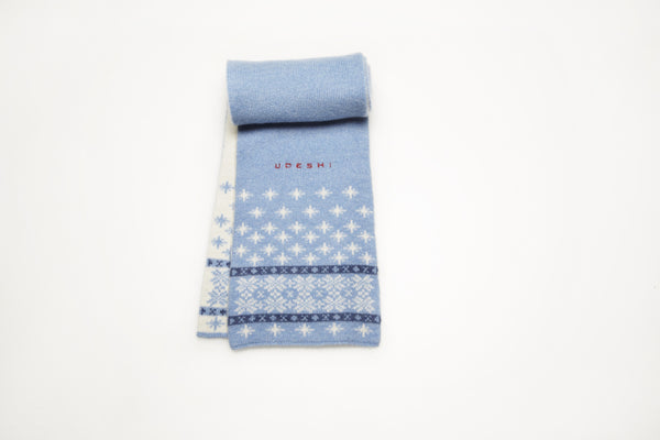 Children's Cashmere Scarf Blue