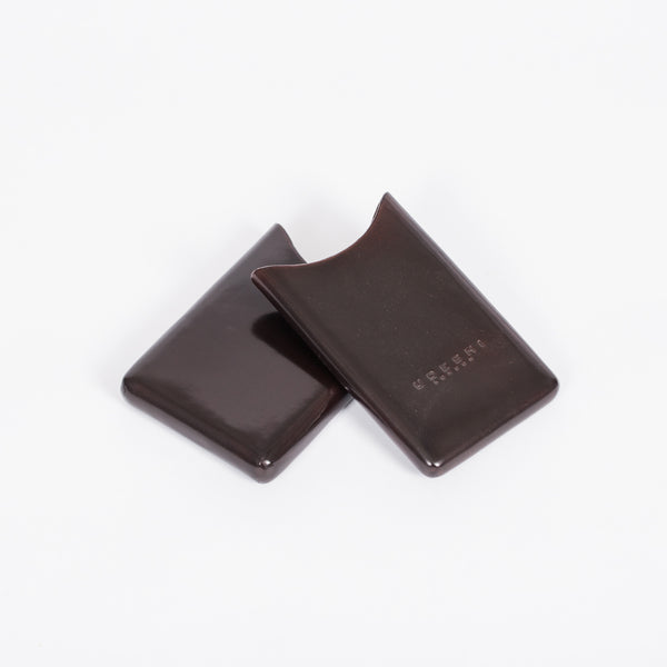 Business Card Holder Chocolate
