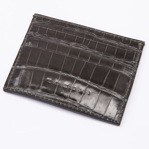 Alligator 7-card Case Grey