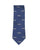 Camel Train Motif Silk Tie Navy