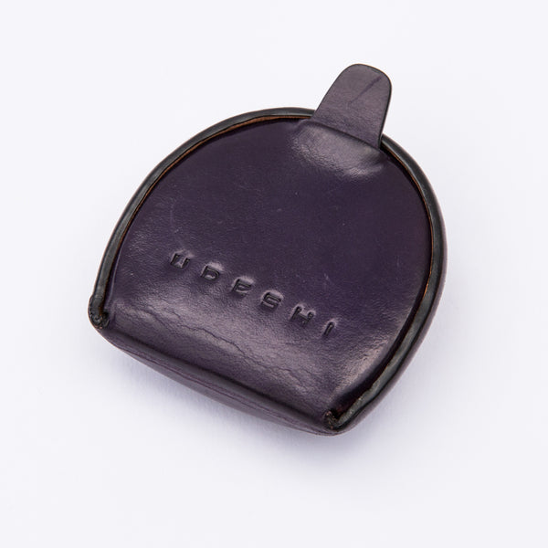 Leather Coin Case Purple