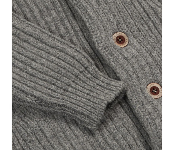 Shawl Cardigan (grey)