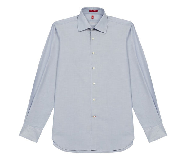 Swiss Oxford Shirt Blue