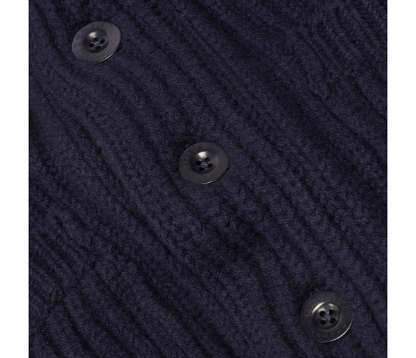 Shawl Cardigan (Navy)