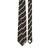 Satin Stripe Silk Tie Black