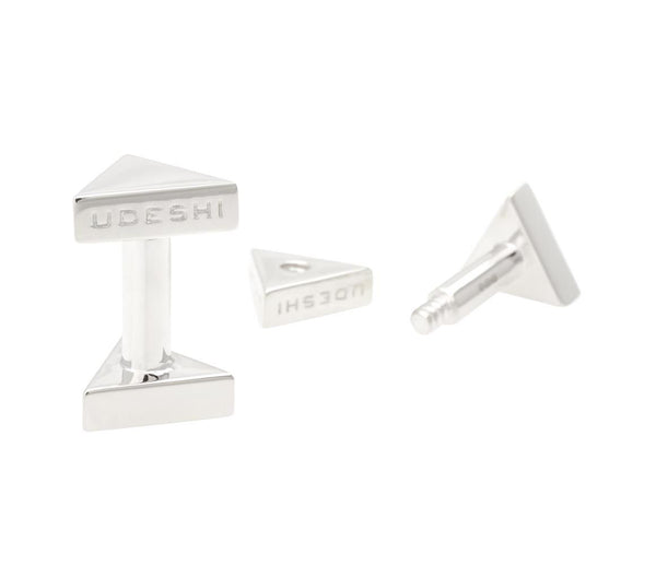 Triangle Bolt Cufflinks