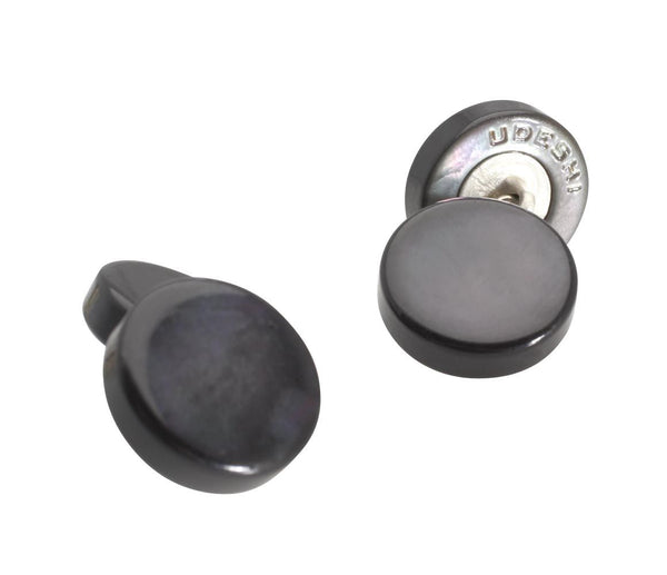 Mother of Pearl Cufflinks Black