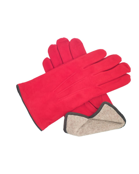 Reindeer Gloves Red