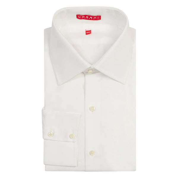 Swiss Oxford Shirt White
