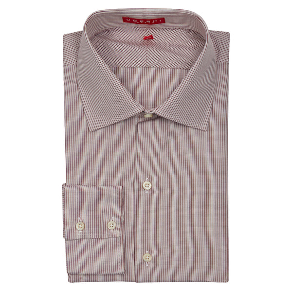 Swiss Check Wine Shirt