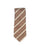 Satin Stripe Silk Tie Chocolate