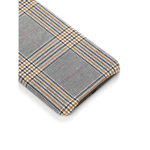 Gingham Print iPhone Case