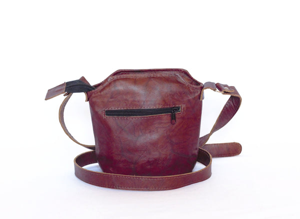 Jade Leather Cross-body