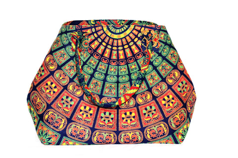 Mandala Beach Bag