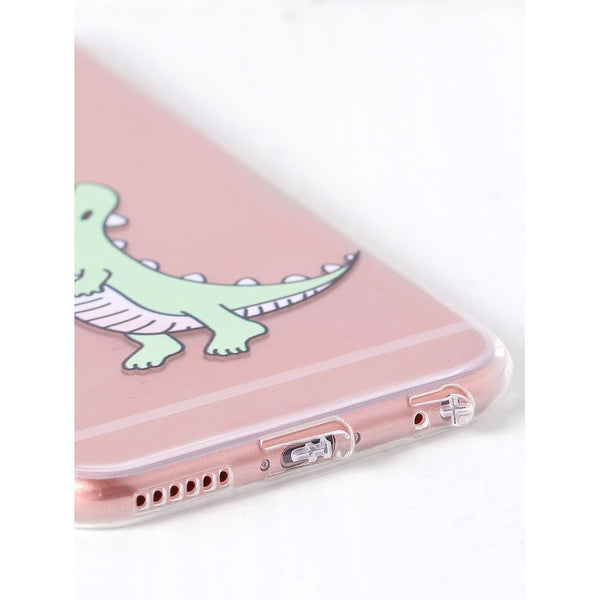 Dinosaur Print Cute iPhone Case