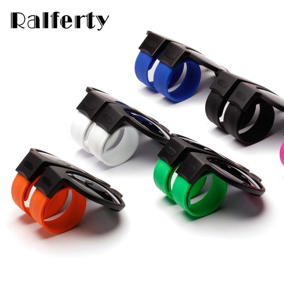 Ralferty Mini Folding Polarized Sunglasses Women Men Cool Trendy Outdoor Sport Slap Sunglasses UV400 Black Bracelet Oculos P1801