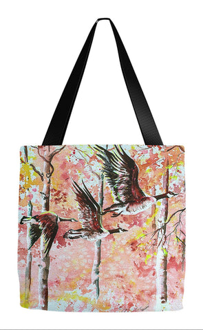 Fall Tote - In Flight