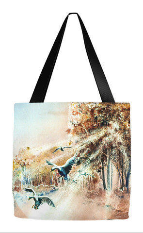 Fall Tote - Ducks Landing