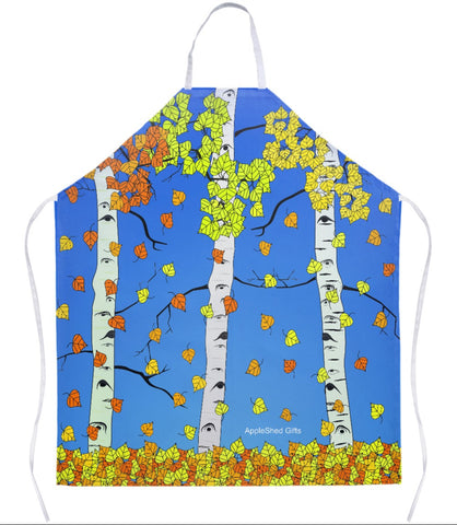 Apron - Aspen Leaves