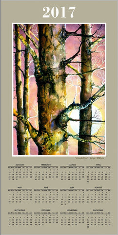 Calendar - Sunset Forest