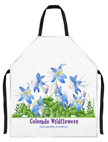 Apron - Colorado Columbines