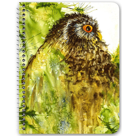 "Notebook - ""Red-eye Owl"""