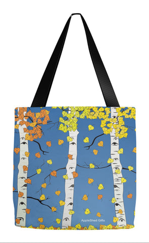 Fall Tote - Falling Leaves