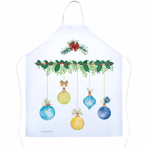 Apron - Christmas Ornaments