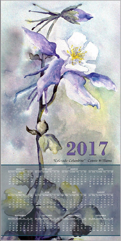 Calendar - Colorado Columbine