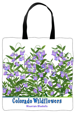 Tote Bag - Colorado Mountain Bluebells